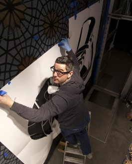 Adidas mural collaboration with Joe Iurato