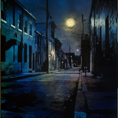 Baltimore Dusk – blue