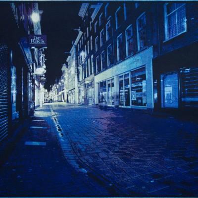 Amsterdam Maze 2 – blue