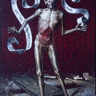 Hans Memling Earthy.Vanity.and Divine Salvation – Skeleton