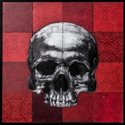 Skull Mosaic – Silver