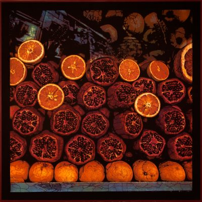 Oranges and pomagrantes